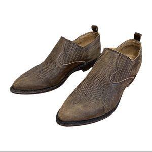 Frye Billy Shootie Leather Western Low Cut Boot